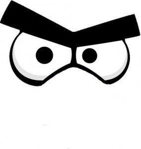 Angrybird eyes